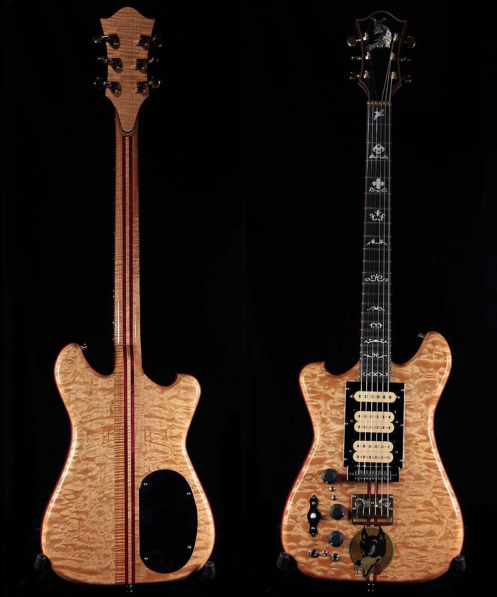 moriarty jerry garcia wolf lefty guitars only. Black Bedroom Furniture Sets. Home Design Ideas