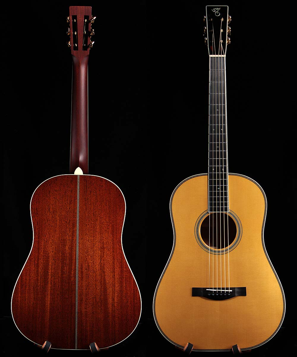 lefthanded santa cruz brozman baritone lefty guitars only. Black Bedroom Furniture Sets. Home Design Ideas